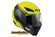 AGV COMPACT COURSE BLACK YELLOW FLUO