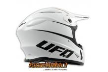CASCO CROSS UFO LEVEL WHITE MOTOCROSS HELMET