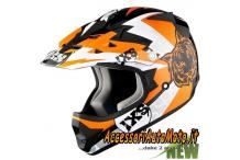 Casco Bimbo Cross Motocross Ixs HX 278 Junior Orange