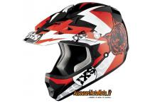 Casco Bimbo Cross Motocross Ixs HX 278 Junior Red