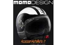 VISIERA CHIARA MOMO DESIGN PER CASCO FIGHTER, FGTR, AVIO