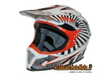 CASCO CROSS UFO NITRO LEVEL MOTOCROSS ARANCIO KTM