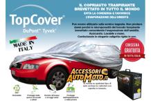 Copriauto TopCover Silver Taglia S