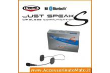 INTERFONO CABERG JUST SPEAK S BLUETOOTH UNIVERSAL KIT
