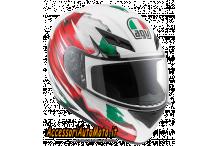 CASCO INTEGRALE AGV K-3 ITALY FLAG