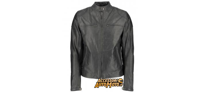 Giacca moto donna pelle OJ Rooster Lady nera