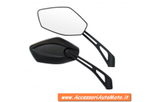 MIRRORS MOTORCYCLE lampa INFINITY