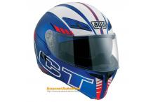 AGV COMPACT SEATTLE BLU BIANCO ROSSO