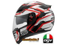 AGV HORIZON STAMINA BLACK WHITE RED