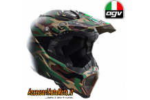Casco CROSS OFF-ROAD IN FIBRA AGV AX-8 EVO PAULIN CAMOUFLAGE