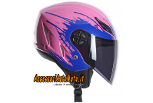 AGV BLADE TOO FAST PINK BLUE