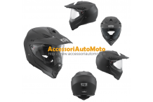 CASCO CROSS OFF-ROAD IN FIBRA AGV AX-8 DUAL EVO NERO OPACO