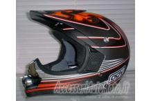 CASCO CROSS BIMBO AGV RC5 JUNIOR DEVIL BAMBINO 48, 50
