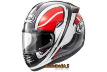ARAI AXCESS 2 VORTEX RED CASCO INTEGRALE IN SUPER FIBRA