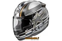 ARAI AXCESS 2 STARFLAG GRAY CASCO INTEGRALE IN SUPER FIBRA