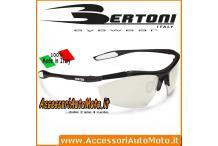 OCCHIALI SOLE FOTOCROMATICI BERTONI F1010A MOTO BICI MTB