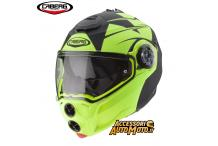 CABERG DROID PATRIOT NERO OPACO/GIALLO-FLUO