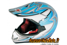 CASCO CROSS/MOTARD BIMBO KOJI KJ-6 Junior Taglia M