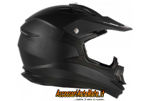 CASCO CROSS, MOTARD,QUOD MDS ONOFF NERO OPACO BY AGV