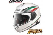 Nolan N104 Absolute Italy N-Com metal white