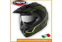 CABERG TOURMAX SONIC CASCO ENDURO APRIBILE NERO/GIALLO-FLUO