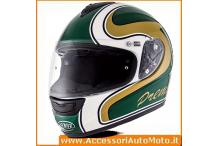 Casco Integrale  PREMIER MONZA MT7 Green/White/Gold