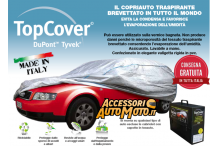 Cars Top Cover Silver Size S
