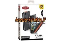 CUSTODIA FLAP IN ECOPELLE SCUDERIA IPHONE 4