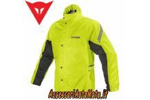 Giacca Antiacqua Moto DAINESE RAIN JACKET GIALLO-FLUO
