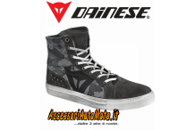DAINESE SCARPE MOTO SNEAKERS STREET LITE CAMOUFLAGE