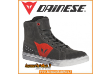 DAINESE STREET BIKER AIR CARBONE ROSSO