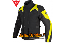GIACCA MOTO DAINESE TEMPEST D-DRY® NERO/GIALLO-FLUO