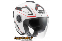 CASCO APERTO IN FIBRA AGV FIBERLIGHT FUTURE