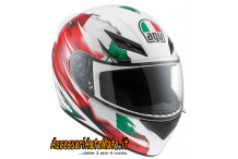 CASCO INTEGRALE AGV K-3 ITALY FLAG