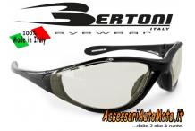 OCCHIALI FOTOCROMATICI BERTONI F200TEN MOTO BICI MTB