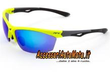OCCHIALI MOTO DA SOLE NRC Eye ProPX.YG NERO/GIALLO-FLUO