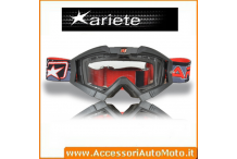 MASCHERA OCCHIALONI ARIETE MX RIDING CROWS TOP NERO