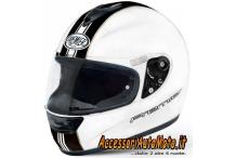 Casco Integrale in Fibra PREMIER MONZA T0 White/Black