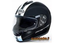 Casco Integrale in Fibra PREMIER MONZA T9 Black/White
