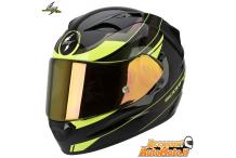 SCORPION EXO-1200 AIR FULMEN NERO/GIALLO-FLUO