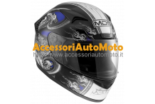 CASCO INTEGRALE IN FIBRA MDS NEW SPRINTER CREATURE BLUE