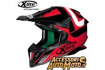 X-lite X-502 Best trick Rosso-nero