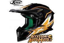 X-lite X-502 Blackflip Nero-arancio
